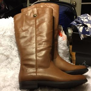 Women's Leather Riding Boots Kasia
